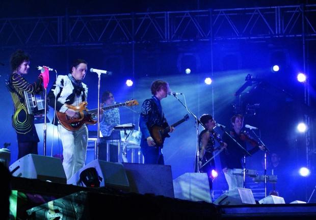 Arcade Fire en el Lollapalooza Argentina