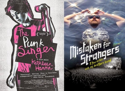 The Punk Singer + Mistaken for Strangers: De comparaciones odiosas y trompadas