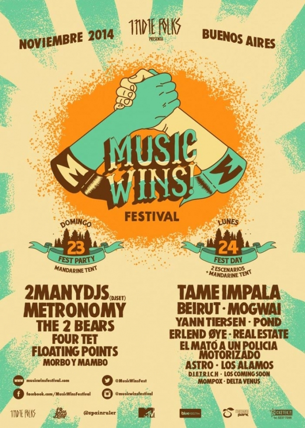 Festival Music Wins – Line Up completo y horarios