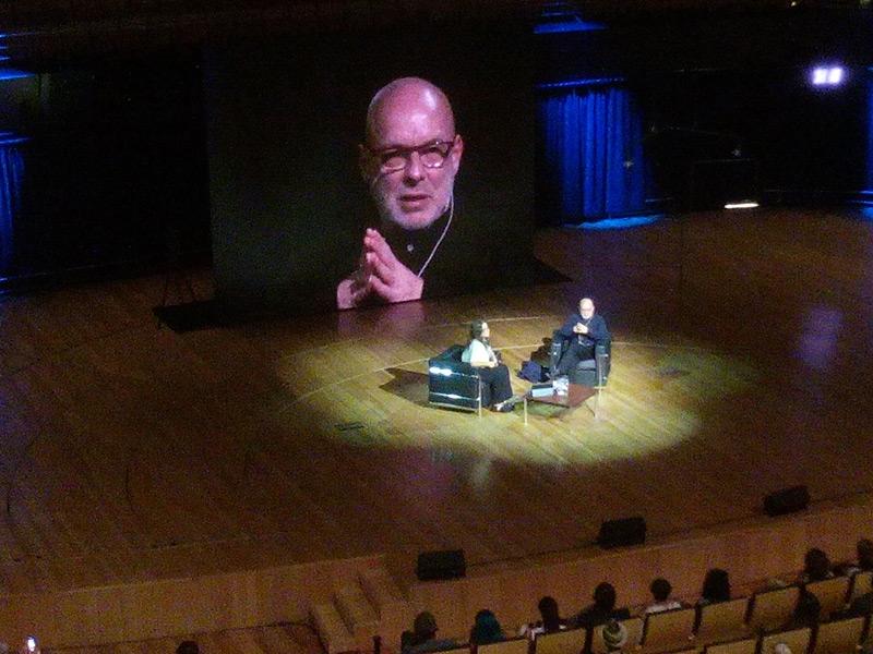 Brian Eno en Buenos Aires