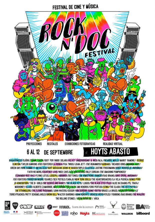 Se viene el Rock N' Doc Festival